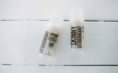 Try coconut oil deodorant as your new natural deodorant