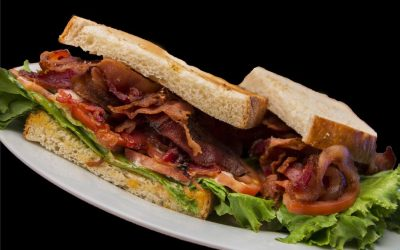 BLT's with Skinny Coconut Oil